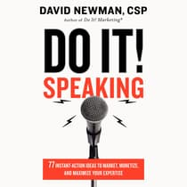 Do It! Speaking by David Newman audiobook