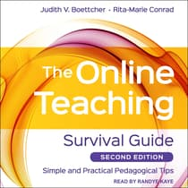 The Online Teaching Survival Guide by Judith V. Boettcher audiobook