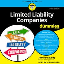 Limited Liability Companies For Dummies by Jennifer Reuting audiobook