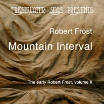 The Early Poetry of Robert Frost volume 2  by Robert Frost audiobook