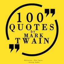 100 Quotes by Mark Twain by Mark Twain audiobook