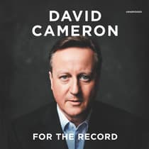 For the Record by David Cameron audiobook