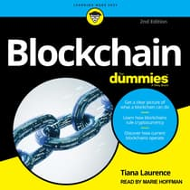 Blockchain For Dummies by Tiana Laurence audiobook