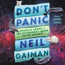 Don't Panic by Neil Gaiman audiobook