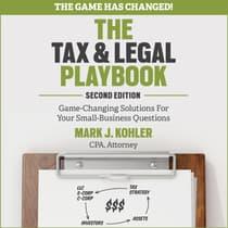 The Tax and Legal Playbook by Mark J. Kohler audiobook
