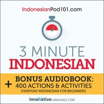 3-Minute Indonesian by Innovative Language Learning audiobook