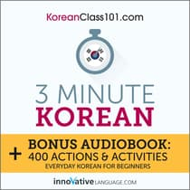 3-Minute Korean by Innovative Language Learning audiobook