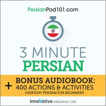 3-Minute Persian by Innovative Language Learning audiobook