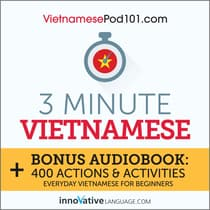 3-Minute Vietnamese by Innovative Language Learning audiobook