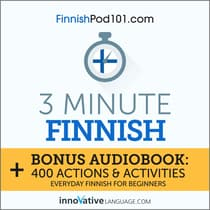 3-Minute Finnish by Innovative Language Learning audiobook