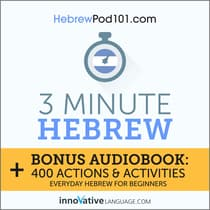 3-Minute Hebrew by Innovative Language Learning audiobook