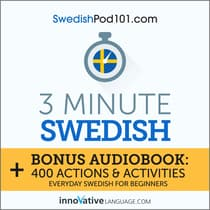 3-Minute Swedish by Innovative Language Learning audiobook