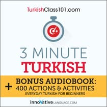 3-Minute Turkish by Innovative Language Learning audiobook