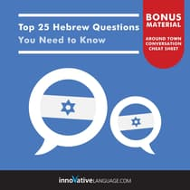 Top 25 Hebrew Questions You Need to Know by Innovative Language Learning audiobook