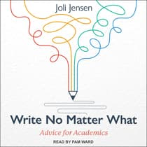 Write No Matter What by Joli Jensen audiobook