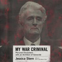 My War Criminal by Jessica Stern audiobook