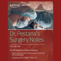 Dr. Pestana's Surgery Notes by Carlos Pestana audiobook