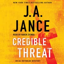 Credible Threat by J. A. Jance audiobook