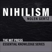 Nihilism by Nolen Gertz audiobook