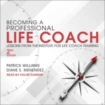 Becoming a Professional Life Coach by Diane S. Menendez audiobook