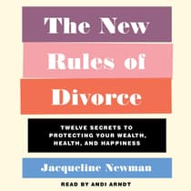 The New Rules of Divorce by Jacqueline Newman audiobook