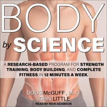 Body by Science by John Little audiobook