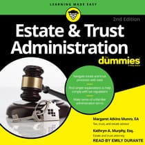 Estate & Trust Administration For Dummies by Margaret A. Munro audiobook
