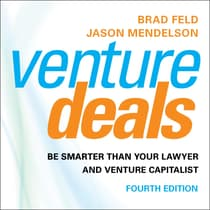 Venture Deals, 4th Edition by Brad Feld audiobook