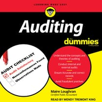 Auditing for Dummies by Marie Loughran audiobook