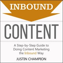 Inbound Content by Justin Champion audiobook