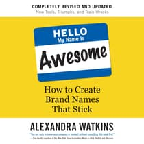 Hello, My Name Is Awesome by Alexandra Watkins audiobook