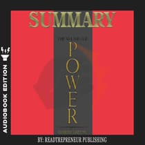 Summary of The 48 Laws of Power: by Robert Greene by Readtrepreneur Publishing audiobook
