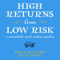 High Returns From Low Risk by Jan De Koning audiobook