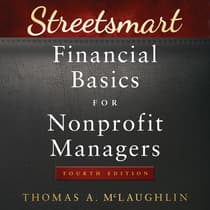 Streetsmart Financial Basics for Nonprofit Managers by Thomas A. McLaughlin audiobook