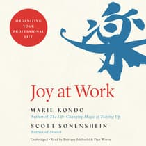 Joy at Work by Marie Kondo audiobook