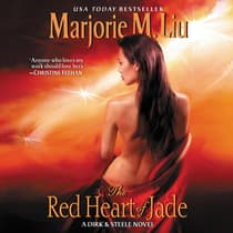 The Red Heart of Jade by Marjorie M. Liu audiobook