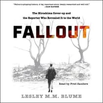 Fallout by Lesley M.M. Blume audiobook