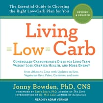 Living Low Carb by Barry Sears audiobook