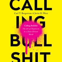 Calling Bullshit by Jevin D. West audiobook