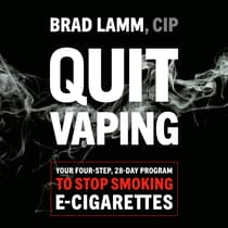 Quit Vaping by Brad Lamm audiobook