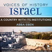 Voices of History Israel: A Country with Its Institutions by Shlomo Goren audiobook