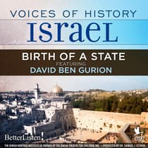 Voices of History Israel: Birth of a State by David Ben Gurion audiobook