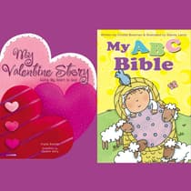 My ABC Bible and My Valentine Story by Crystal Bowman audiobook