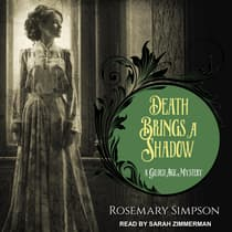 Death Brings a Shadow by Rosemary Simpson audiobook