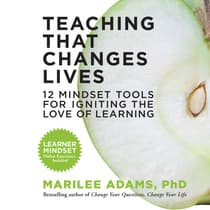 Teaching That Changes Lives by Marilee Adams audiobook