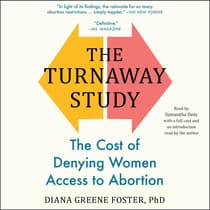 The Turnaway Study by Diana Greene Foster audiobook