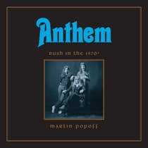 Anthem by Martin Popoff audiobook