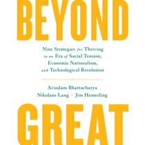 Beyond Great by Arindam K. Bhattacharya audiobook