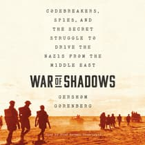 War of Shadows by Gershom Gorenberg audiobook