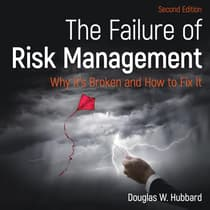 The Failure of Risk Management by Douglas W. Hubbard audiobook